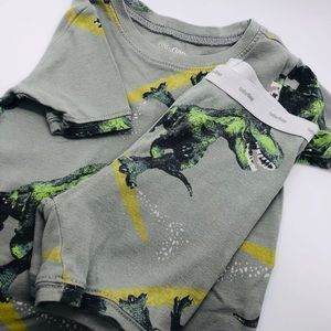 Baby GAP 4T PJs - Dino Surfer Print